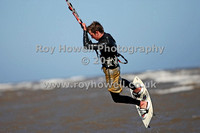 Kite Surfing Cleethorpes  May  2011